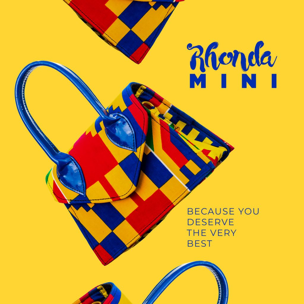 redboxx hesey designs rhoda mini bag campaign