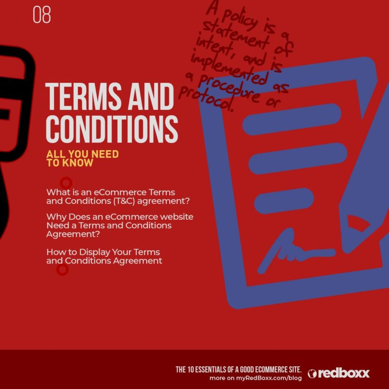 Everything You Need To Know About eCommerce Terms and Conditions
