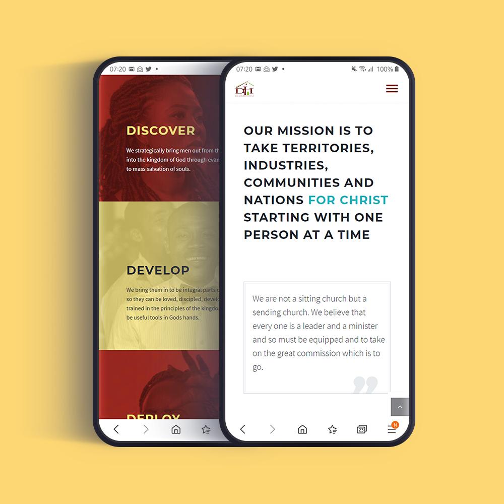 Responsive Website Design & Development dominionhouse.org