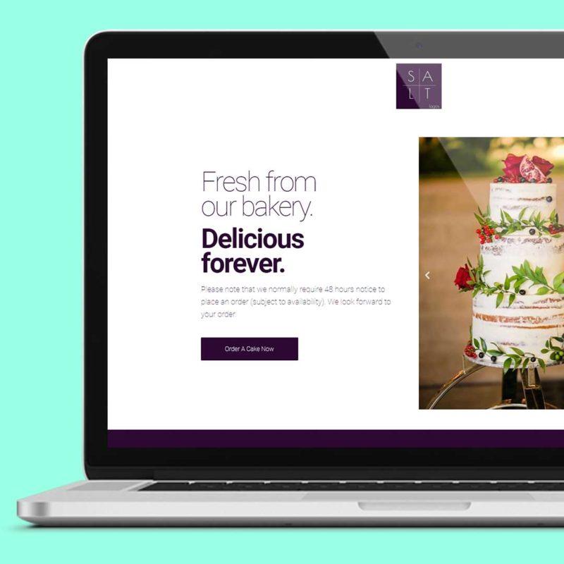 Salt Lagos Website Home Page Upselling