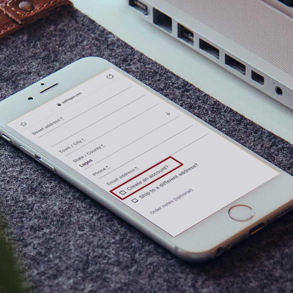 eCommerce Guest Checkout Feature on SaltLagos.com